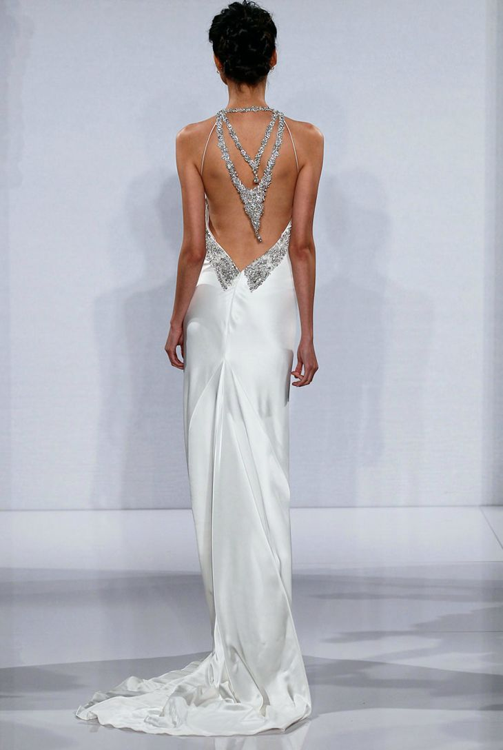 Statement Back Wedding Dresses 2012 Bridal Trends Pnina Tournai 3 And Fashion