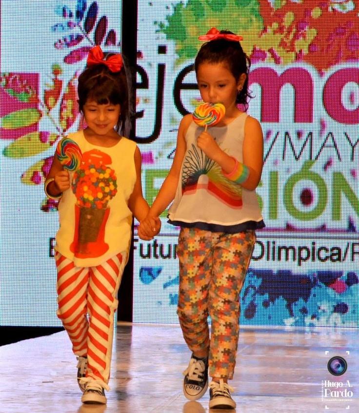"""Las niñas también tienen espació en """"colorado"""" moda que permite soñar,jugar,crecer"""