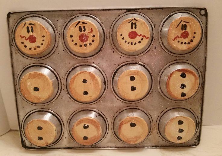 Trashy treasures muffin tin