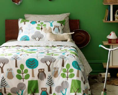 My fav colors: Owl Beds, Duvet Sets, Owl Sky, Green Wall, Duvet Covers, Big Boys, Boys Rooms, Beds Sets, Kids Rooms