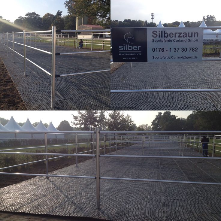 SILBER electric fence at Hanoverian Society (Hannoveraner Verband) in germany. www.silber.fi