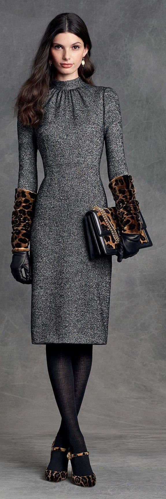 Dress fashion winter 2018