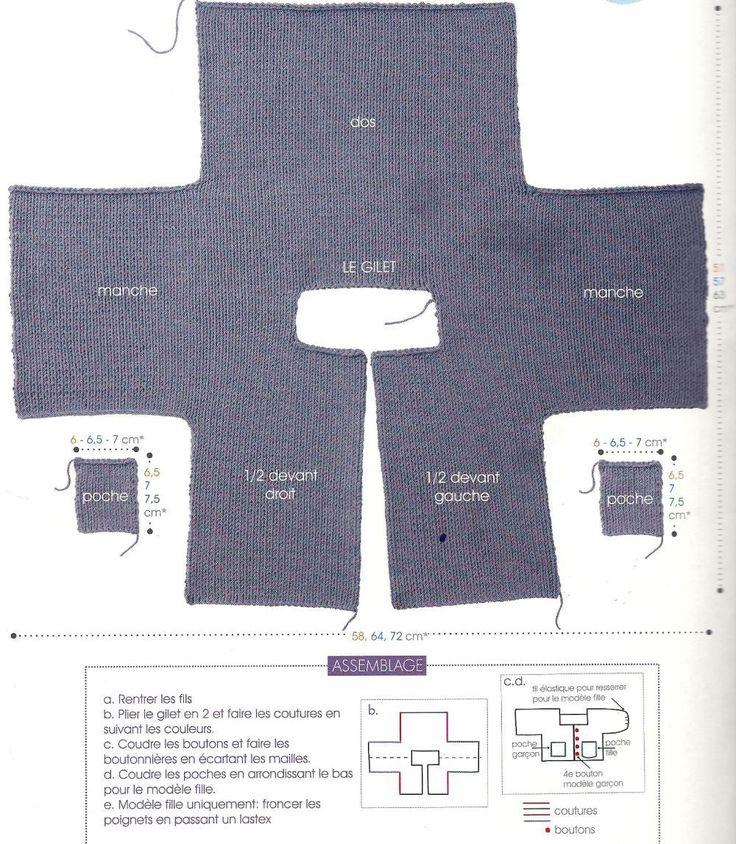 """Sempre da Phildar n 52 il n 2 delle uscite per principianti, lo potete ancora acquistare sul sito:Phildar """"Lui e Lei"""", sono lo stesso modello, cambia solo la forma della tasca e un&#821…"""