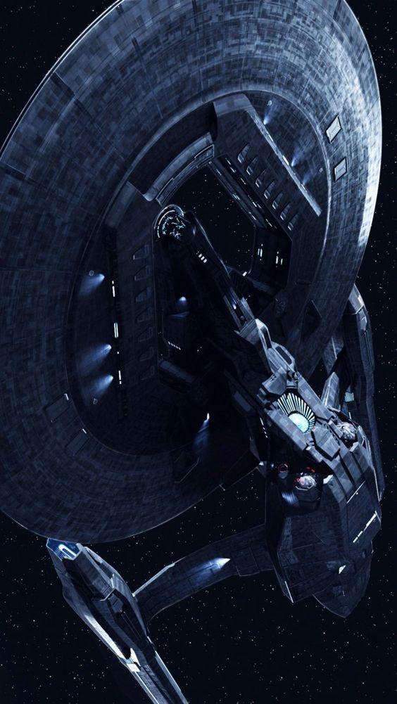 U.S.S. Vengeance from Star Trek Into Darkness iPhone 5 wallpaper