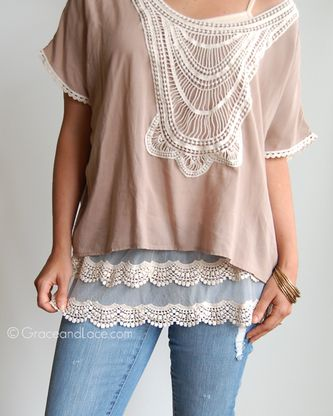 Grace and Lace - Scalloped Lace Top Extenders, $36.00 (http://www.graceandlace.com/all/scalloped-lace-top-extenders/)