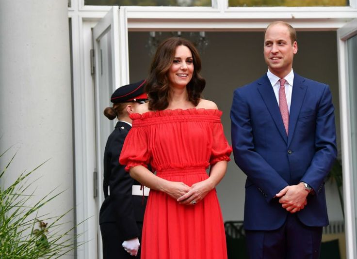 Katalin hercegné és Vilmos herceg Berlinben