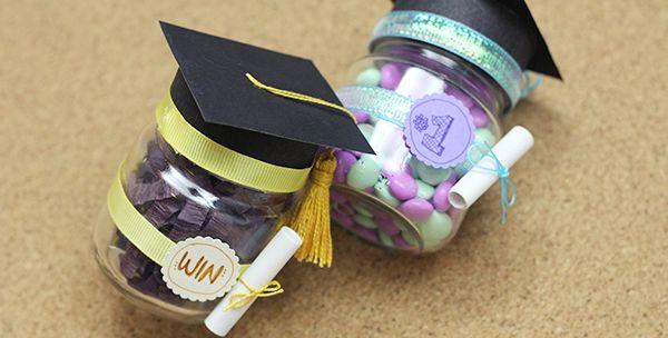 Graduation treats | Dulce graduación: detalle de felicitación