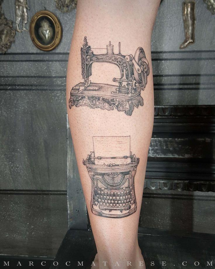 Sewing machine and typewriter   Etching, linework, engraving. Milan, Italy. #purotattoostudio #marcocmatarese #matarese #incisione #etching #engraving #drawing #lines #blackwork #milano #milan #tatuage #ink #tattoo #tattooist #nero #tatuatore #linework #blackart #acquaforte #blackline #tattooideas #inktattoo #black #crossetching #purotattoostudio #sewingmachine #typewriter