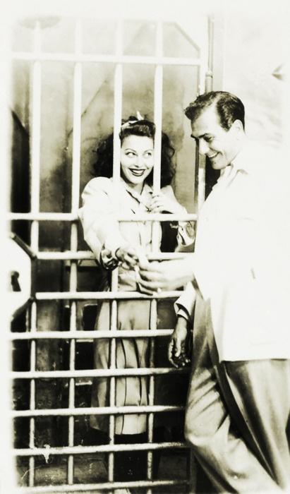 Ava Gardner and Artie Shaw c. 1945