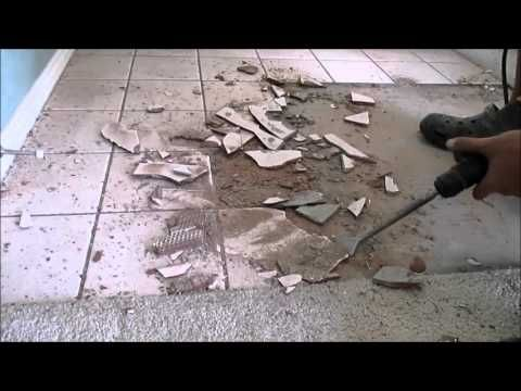 The Easiest, Fastest And Most Efficient Way To Remove Tile. To Learn How To