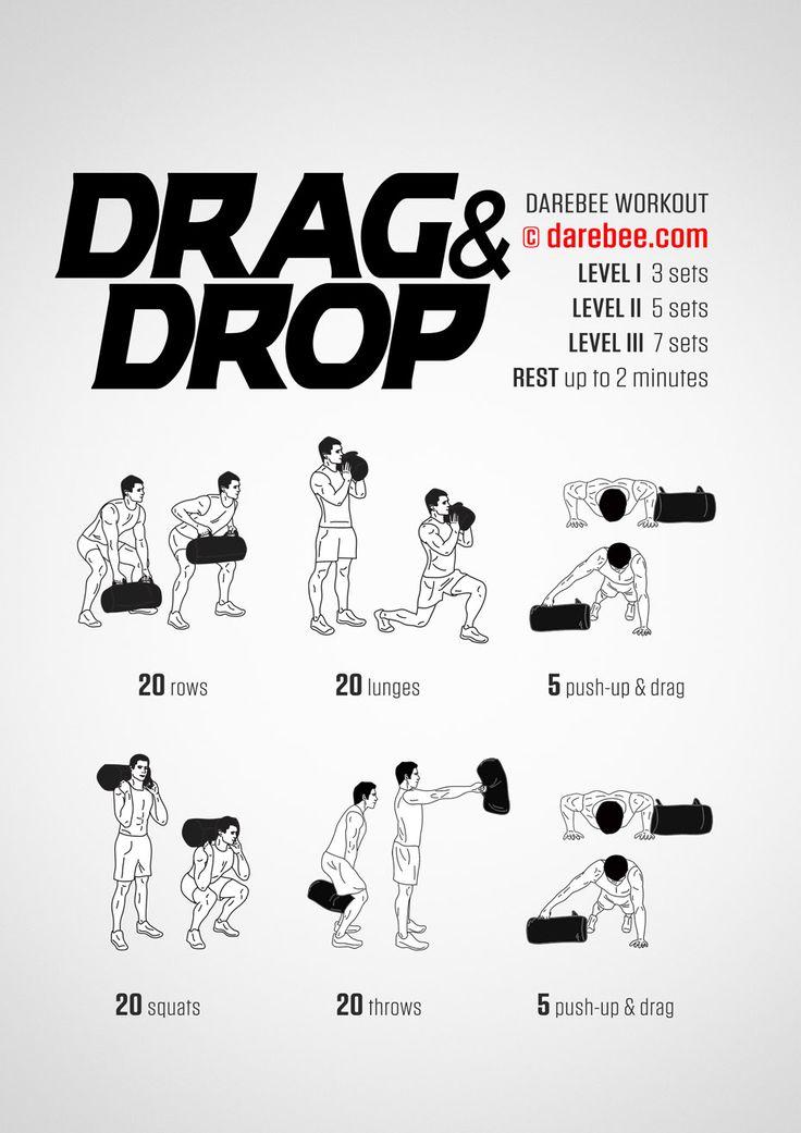 Drag & Drop Workout