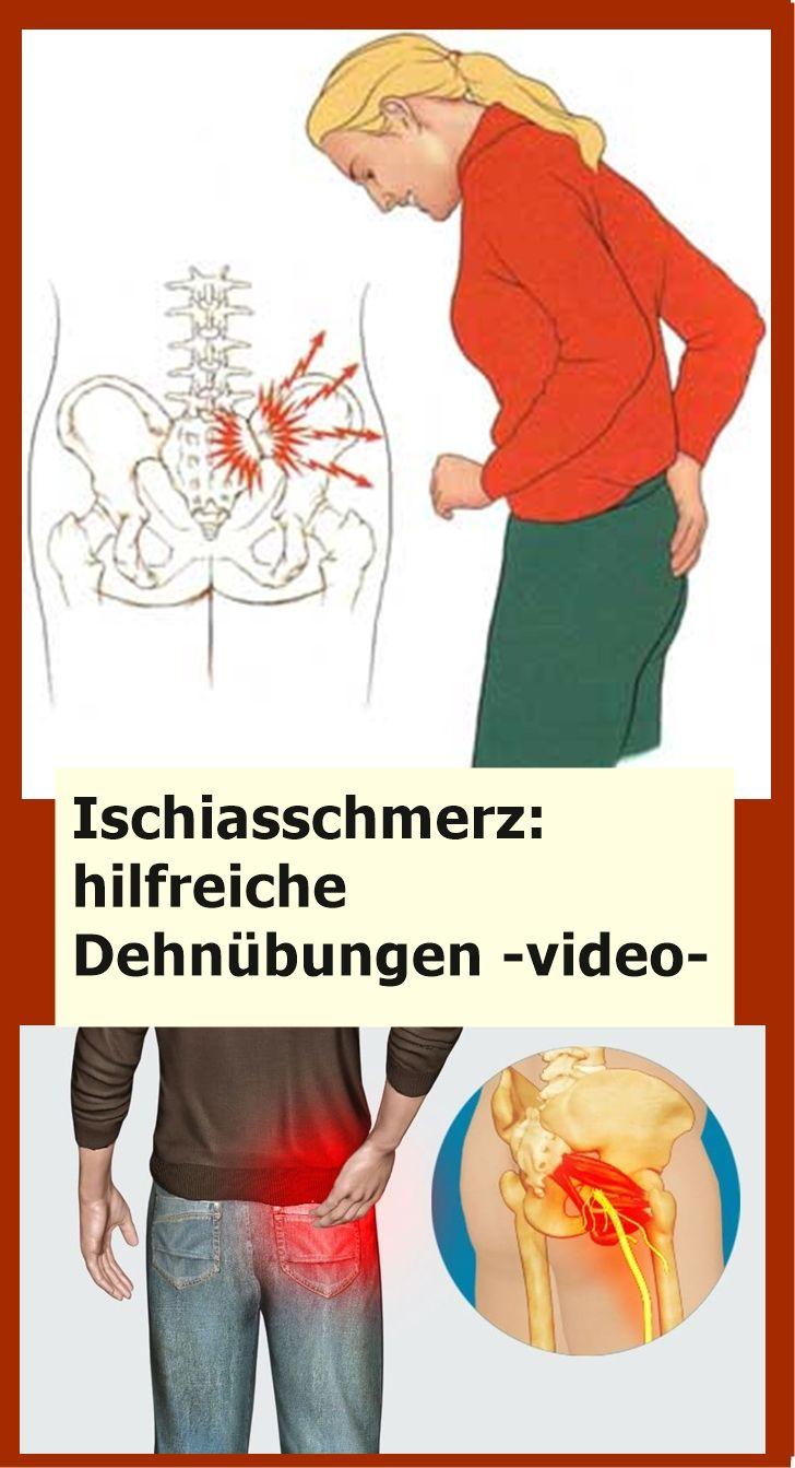 Ischiasschmerz: hilfreiche Dehnübungen -video- | njuskam!