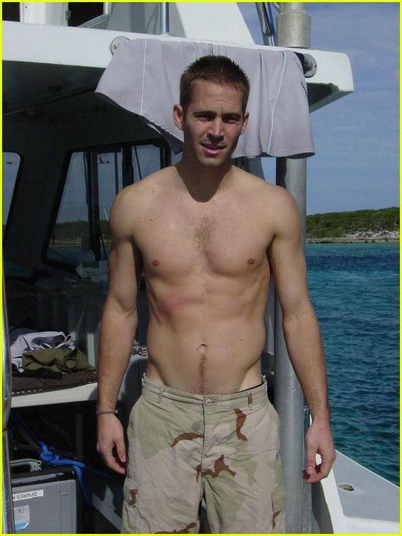 Paul Walker Shirtless | Paul Walker, Shirtless Photos | Just Jared