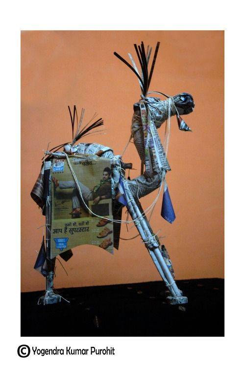 Paper sculpture -31 - Cost   50, 000/- Rupees