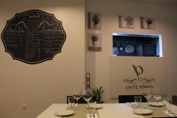 B'Entre Vinhos Restaurante Novo Website!