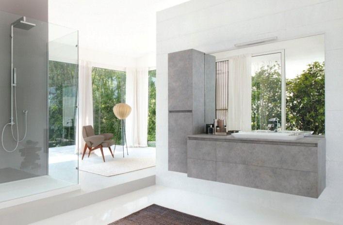 cubik bathroom concrete