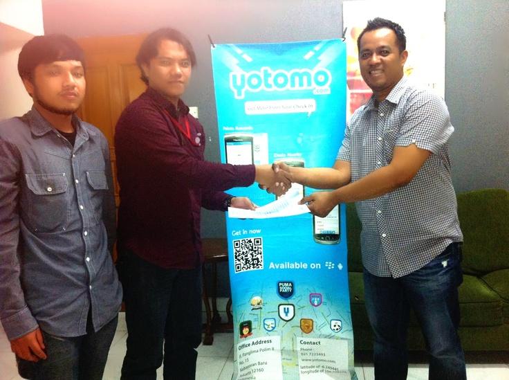 Kerjasama @depoklikcom dengan Yotomo