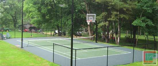 Outdoor Courts For Every Type Of Sport Backyard