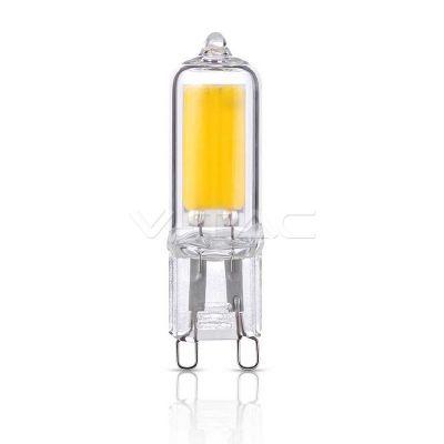 Λαμπτήρας Led G9 2W Θερμό λευκό 2700Κ VT-2102 V-TACΠλήρη χαρακτηριστικά:G9 base, 230V ACΧρώμα:Θερμό λευκό 2700ΚΦωτεινότητα:230LumensΓωνία...