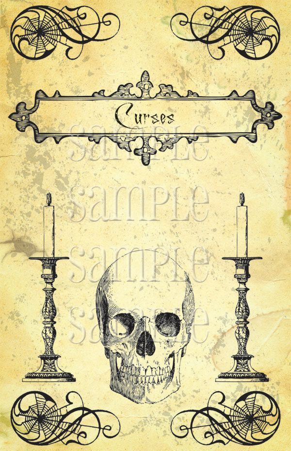 Halloween Book Cover Ideas ~ Best ideas about halloween spell books on pinterest