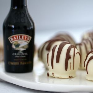 Baileys Tim Tam Cheesecake Balls - Bake Play Smile