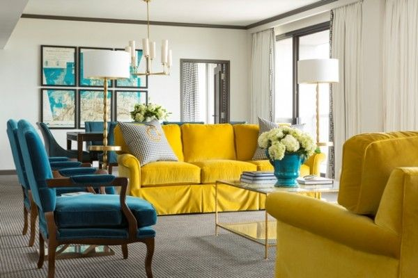 LUV DECOR: Amarelo & Petroleo no The Chancellor Hotel