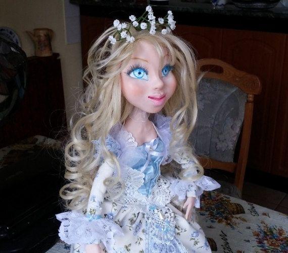 Art doll. Handmade doll. Interior doll. Dressed doll, Souvenir. Művészbabák. Babakészítők. Кукла