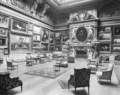 Mrs. Astor's ballroom at the Astor Double Mansion on Fifth Avenue (it could hold 1,200 people)