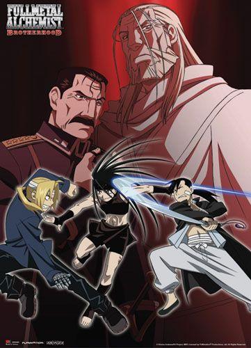 Full Metal Alchemist Brotherhood Ed & Ling Vs Envy ...
