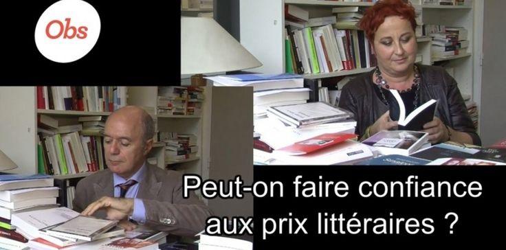 Peut-on faire confiance aux prix littéraires? : Alors que le Grand Prix de l'Académie ouvre officiellement la saison, on a posé la question à Pierre Assouline (juré Goncourt) et Sylvie Ducas (universitaire).