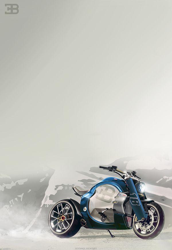 Bugatti Concept Bike Challenge 1 2 On Behance Bugatti Concept