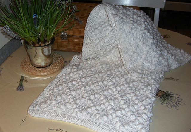 Bobble Baby Blanket Bernat Pattern Crochet Pinterest