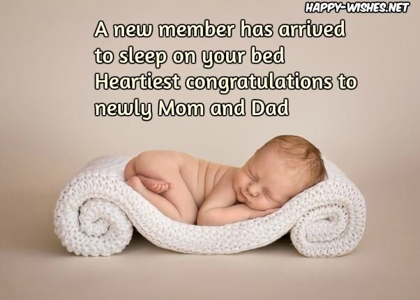 Newborn Baby Congratulations Wishes 8211 Quotes And Messages Congratulations Baby Baby Announcement Photoshoot New Baby Quotes