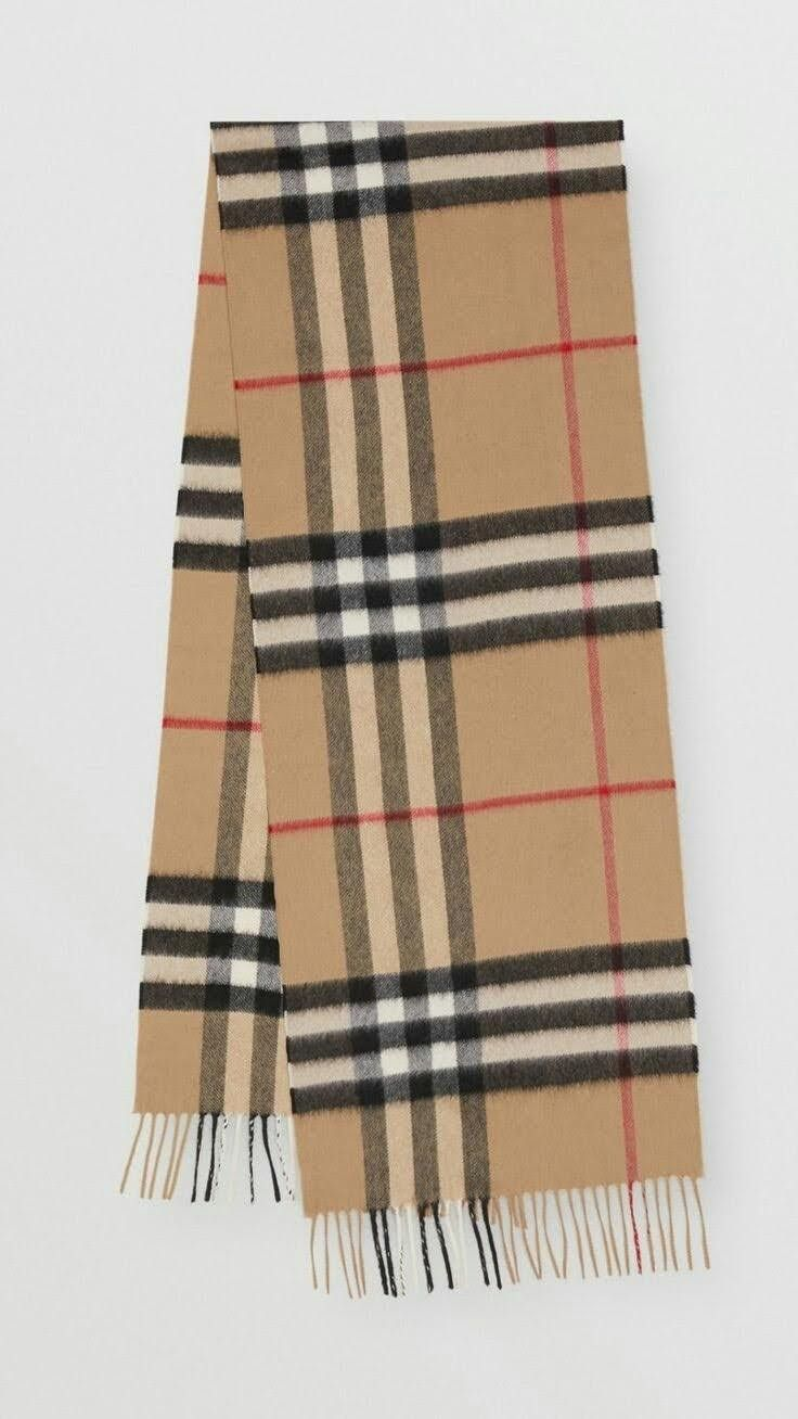 Pin By Christine Gericke On Stricken In 2020 Burberry Scarf Cashmere Scarf Classic Scarf