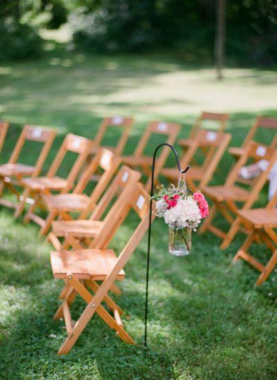 sweet outdoor ceremony | Lucy O Photo #wedding