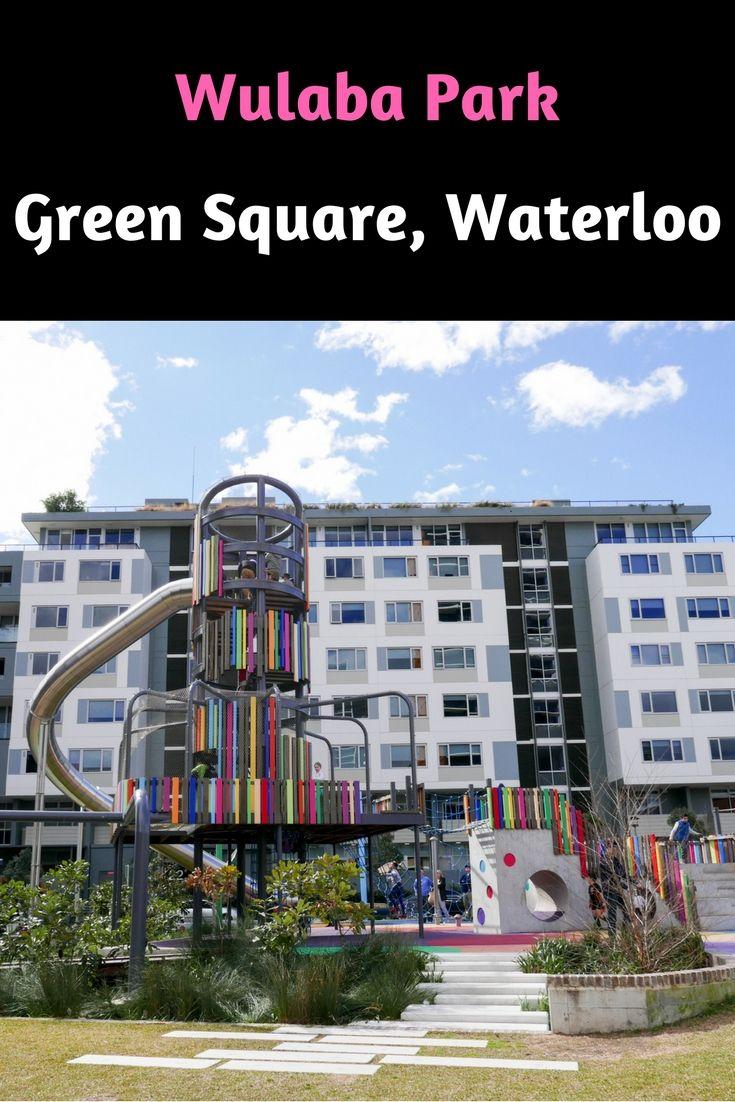 Wulaba Park, Green Square, Waterloo, Sydney