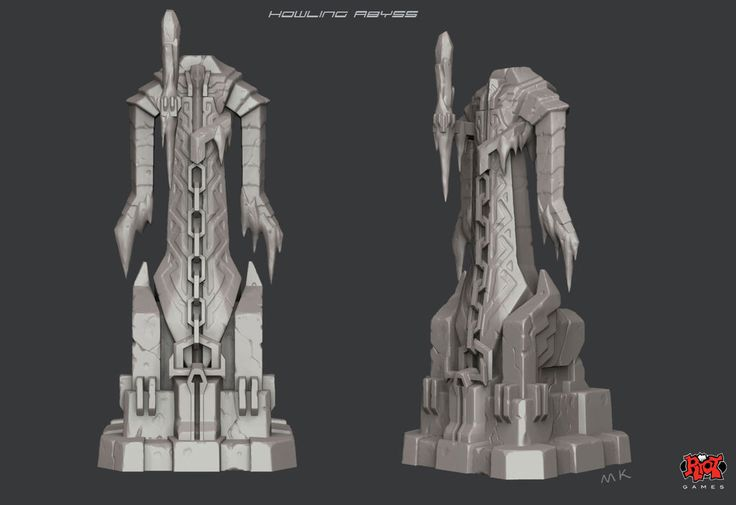 Maokai-howling-abyss-chaos-turret-sculpture