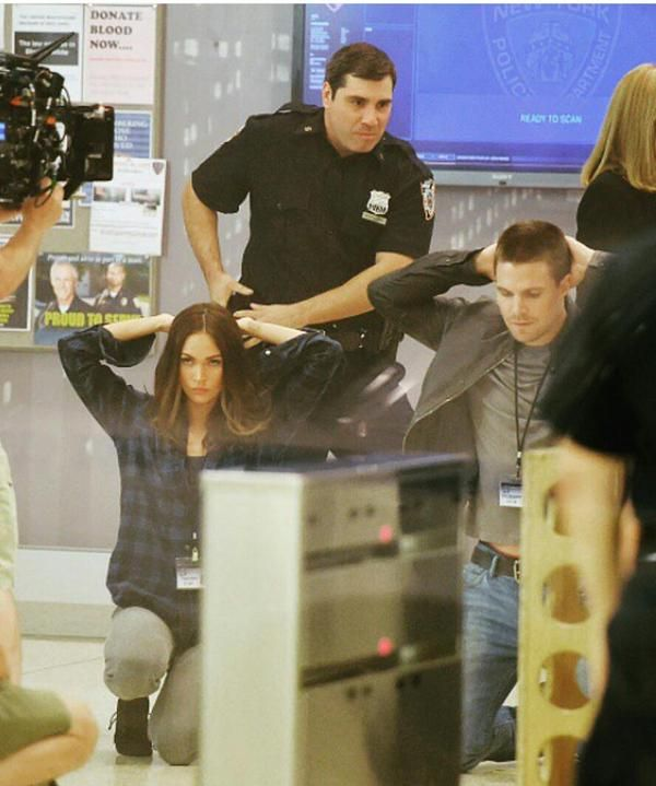 Stephen filming in New York #TMNT2