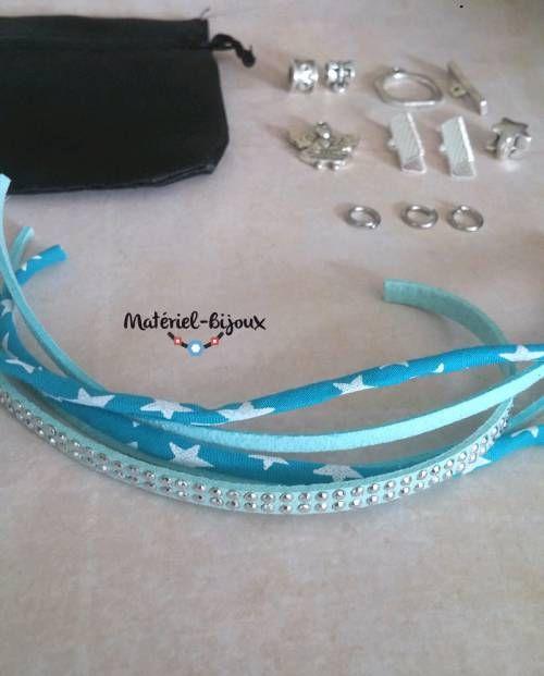 pour vos loisirs créatif un kit DIY pour créer un bracelet fantaisie