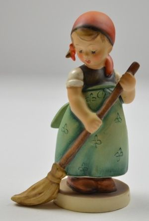 Goebel M.I. Hummel Little Sweeper Figurine - No. 171 - TMK 3 by TGLDirect