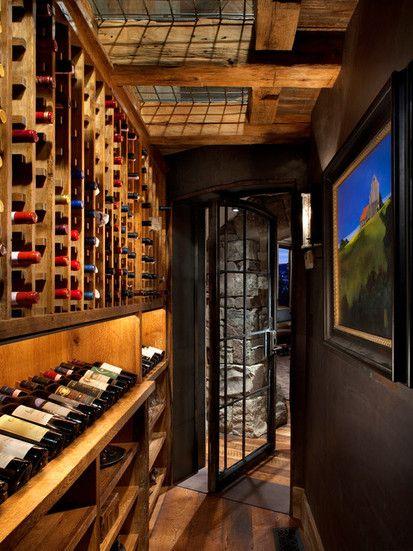 Wine Cellar, Contemporary Wine Cellar