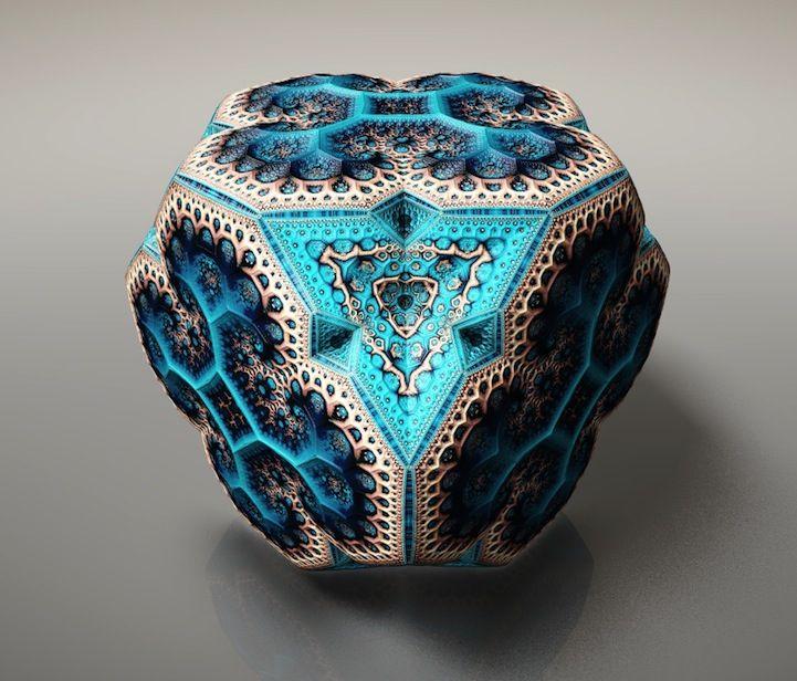 Spectacular Fabergé Fractals | Artist: Tom Beddard | Via: My Modern Metropolis