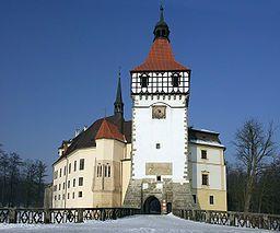 Blatná Chateau, Czech Republic