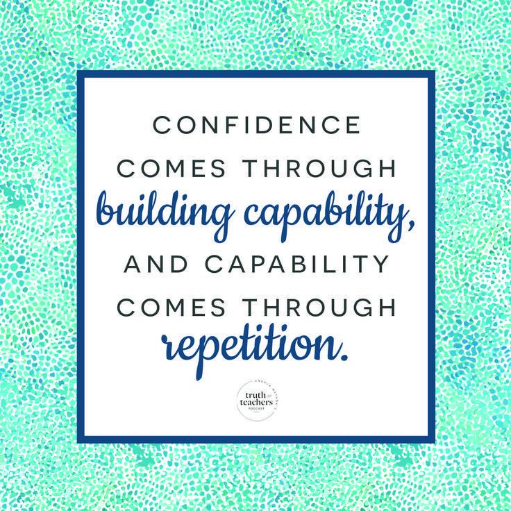 When You Re Doubting Your Abilities As A Teacher Teacher Motivation Teacher Encouragement Quotes Teacher Inspiration