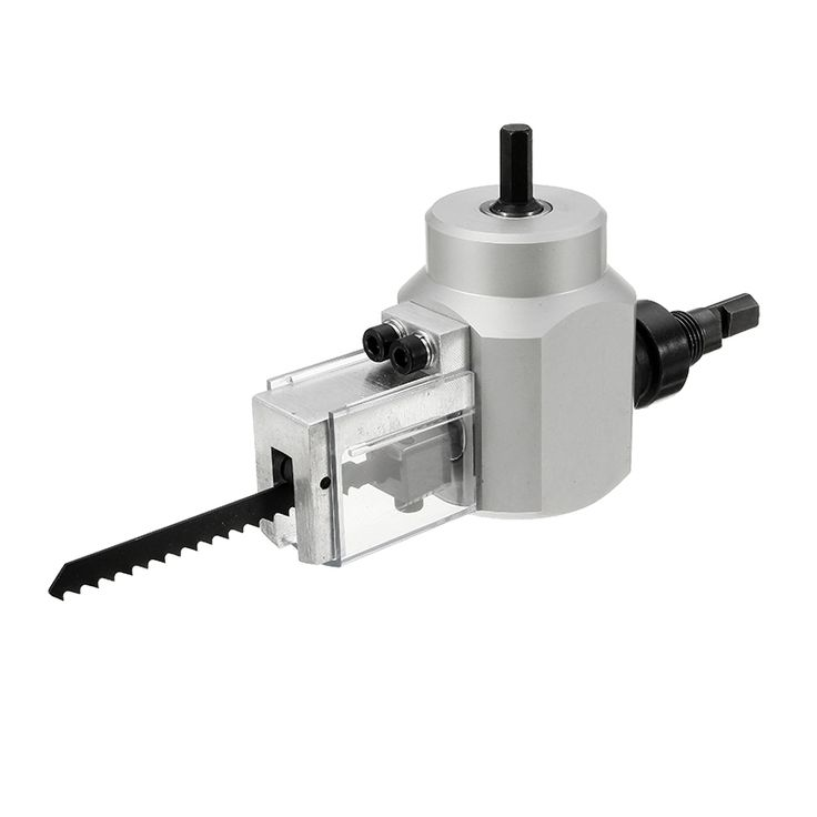 39.69$  Buy here - http://alikou.shopchina.info/1/go.php?t=32816383476 - High Quality Double Head YT-180A Wood Sheet Metal Nibbler Cutter Power Drill Attachment Holder Tool Accessories 39.69$ #aliexpresschina