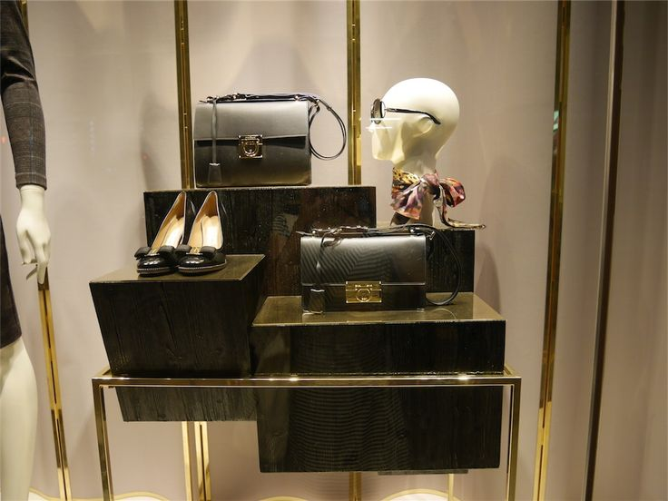 """Salvatore Ferragamo (Florence,Italy), Tokyo Japan, """"Face to Face"""", pinned by Ton van der Veer"""
