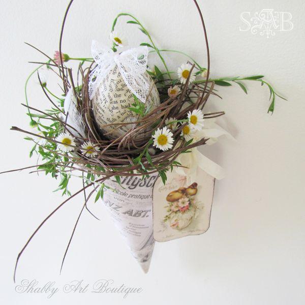 Shabby Art Boutique Vintage Easter