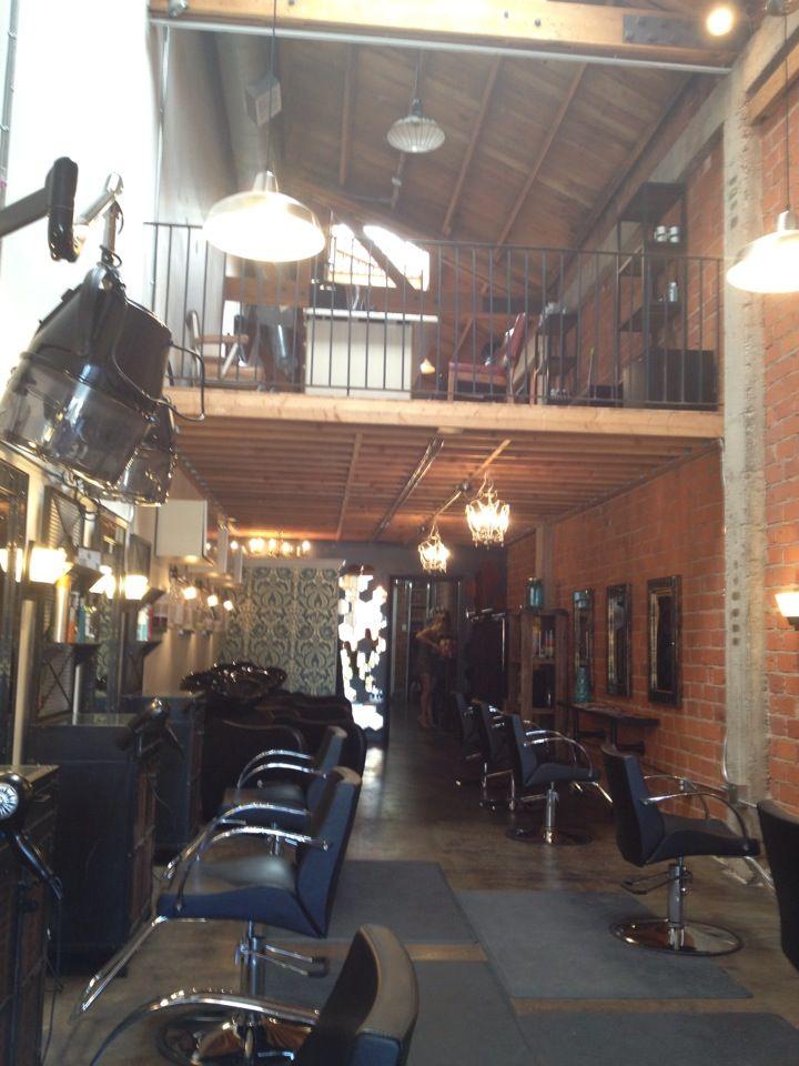 The Local Hair Salon Hair salon in the making :) Pinterest