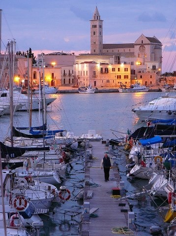 To visit the south of Italy  - Trani, Puglia