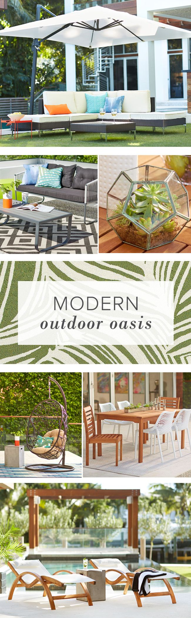 Looking to create a modern outdoor oasis? Find everything you need from patio furniture, fire pits, lounges, and more at AllModern. Plus, FREE SHIPPING on orders over $49.